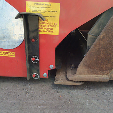 Maxi Fill bucket closure position