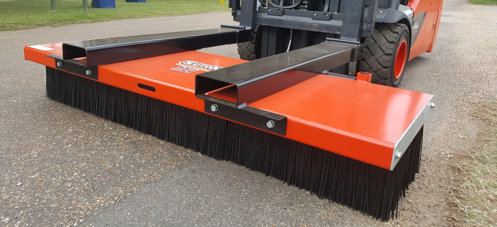 Broomaster Forklift Broom Attachment